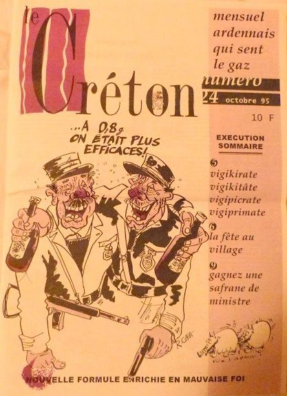Journal satirique Ardennais