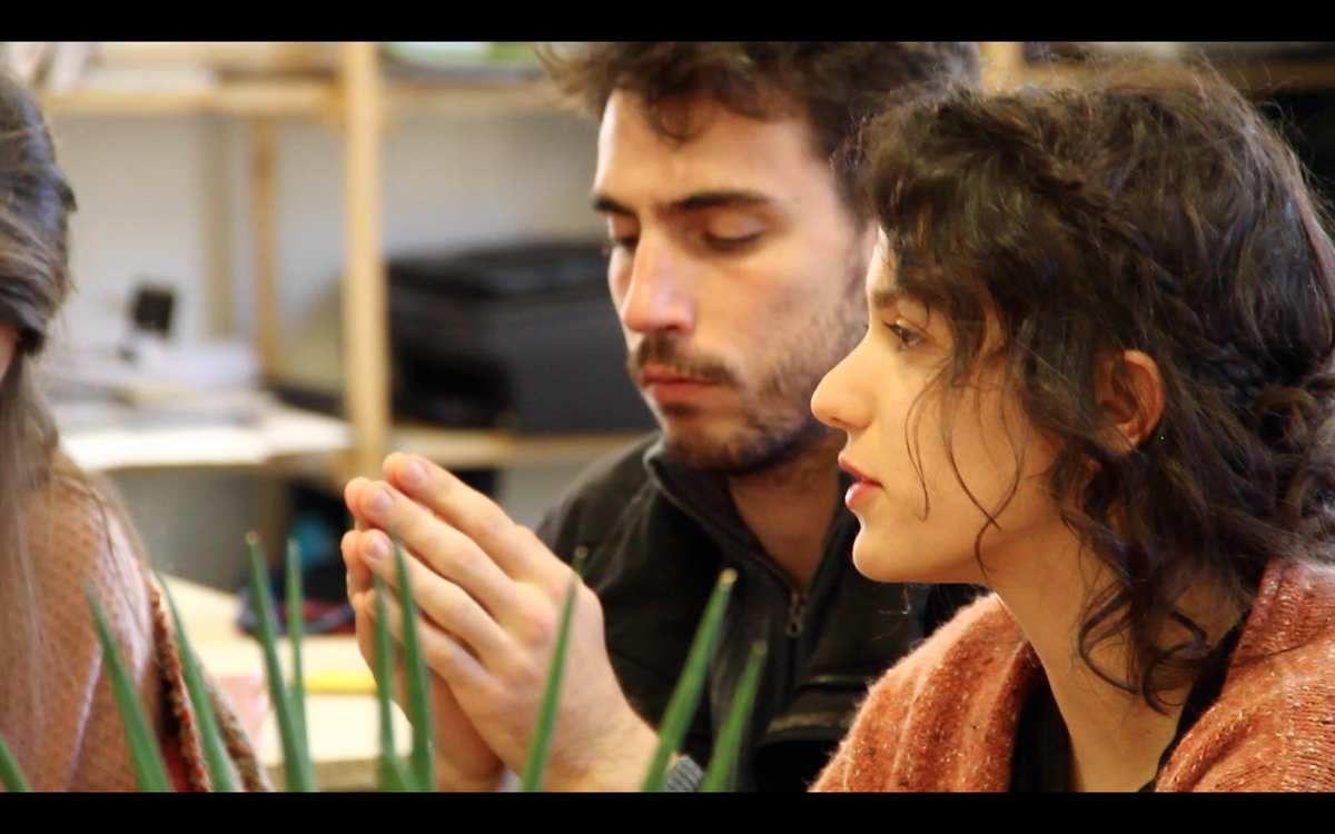 Des étudiants de l'école d'architecture de Nantes en visite à Pasteur !