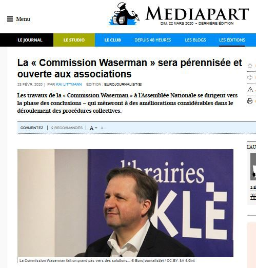 #Commission #Waserman #OSDEI #CNAJMJ