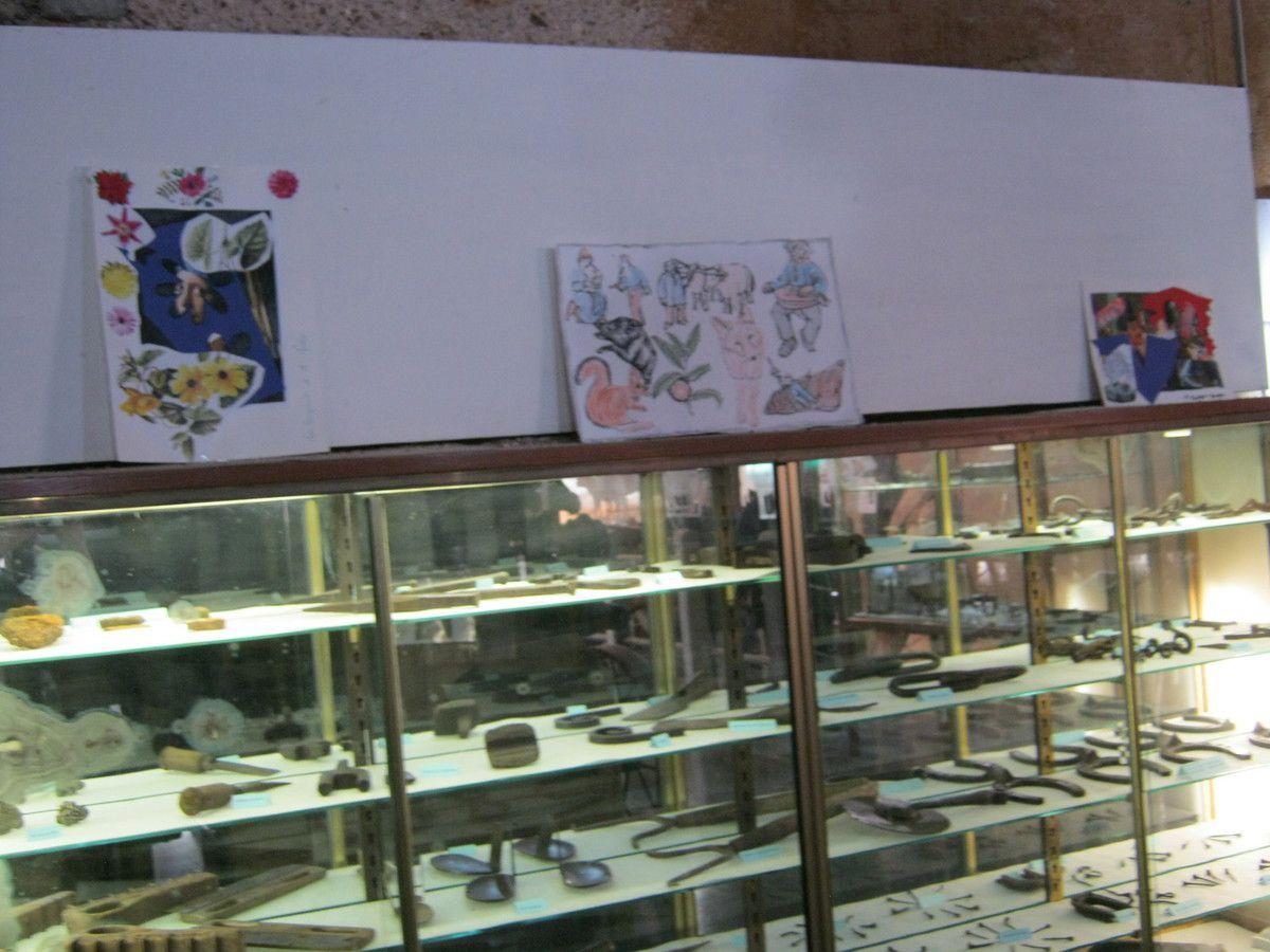Bravo à tous nos Anciens pour ce magnifique travail, ces belles oeuvres qui embellissent notre Musée