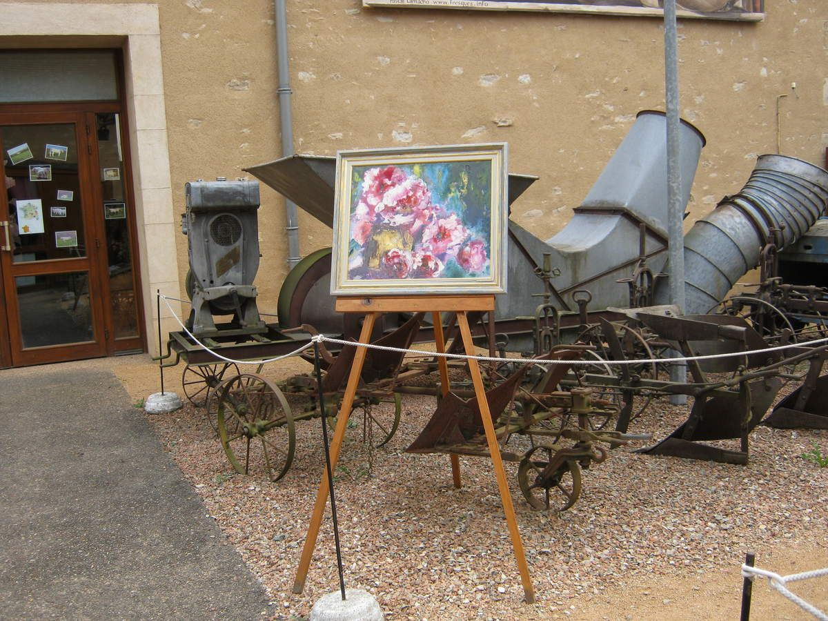 Peinture, Photographies, etc... ont partagé la vedette avec les machines Agricoles d'Autrefois le temps d'une soirée