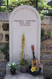 Tombe de Fred Chichin ( Rita Mitsouko), au cimetière Montmartre