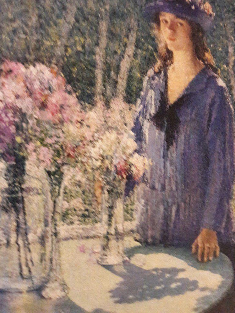 Helen Maria Turner, Jeune fille aux fleurs, 1920