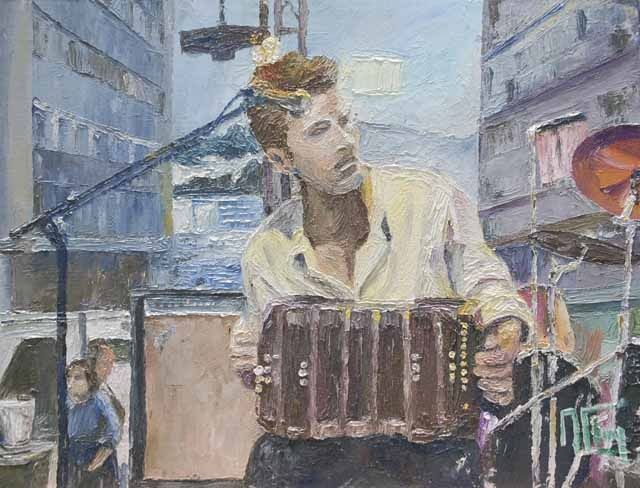 Alain Fleury, Accordeon du 14 juillet