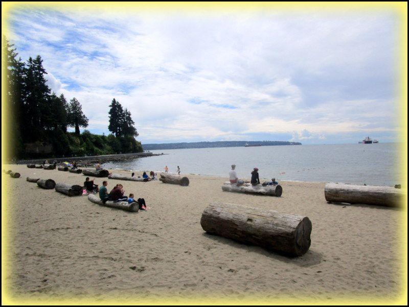 Vancouver ...La Seaside Greenway ..