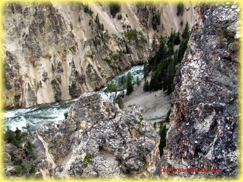 Yellowstone National Park  ...Le Grand Canyon ..