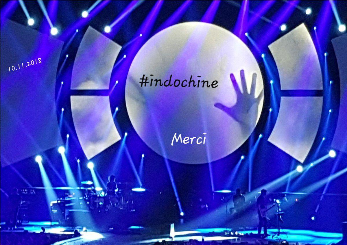 INDOCHINE Bordeaux Arena 10.11.2018...