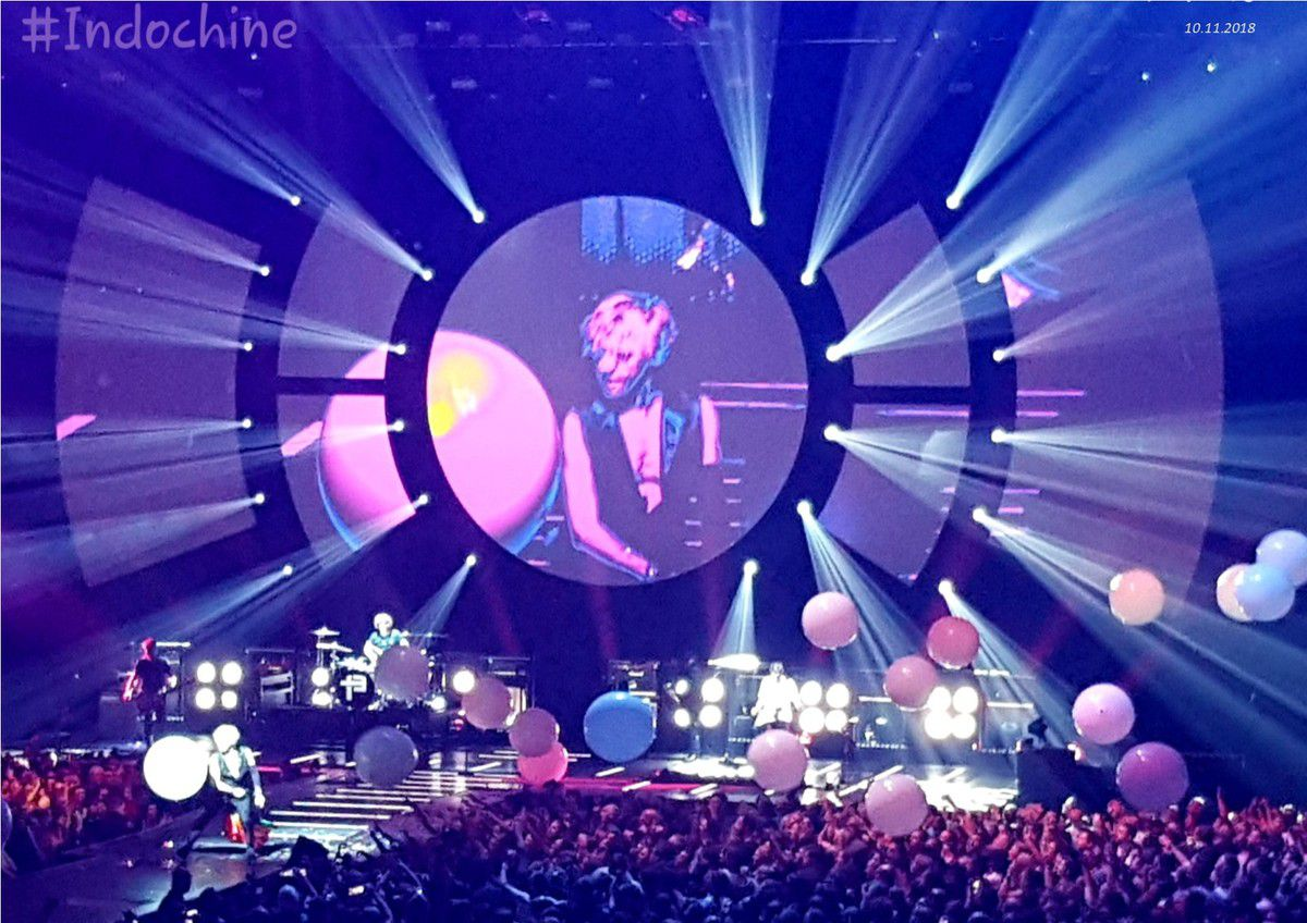 INDOCHINE Bordeaux Arena 10.11.2018...
