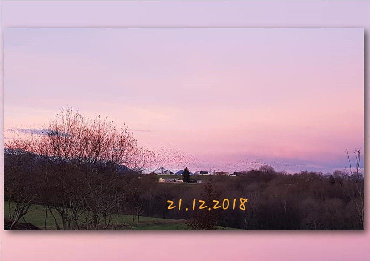 Le ciel du hameau...
