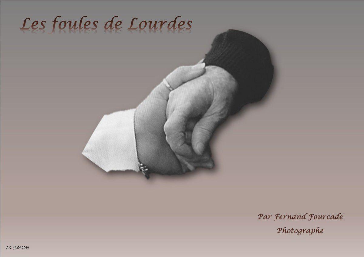 Les foules de Lourdes...