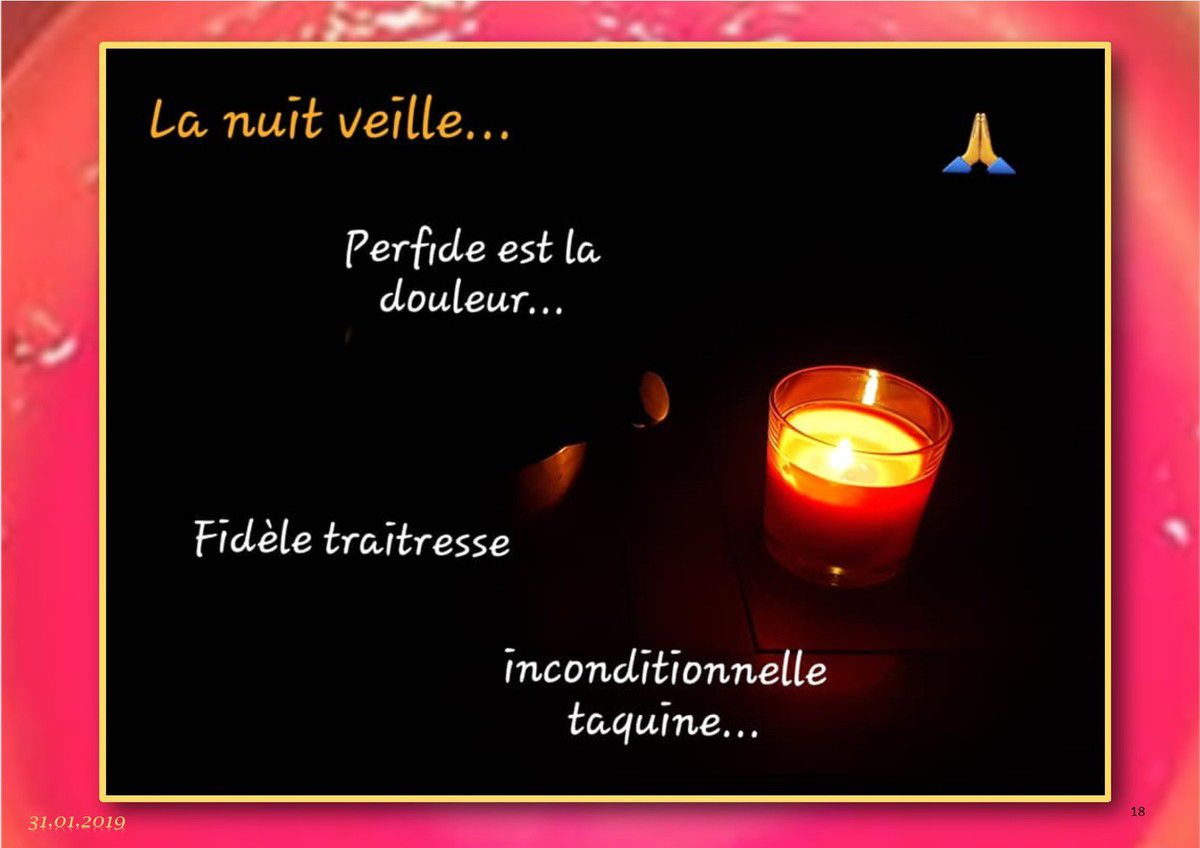 Mes nuits...