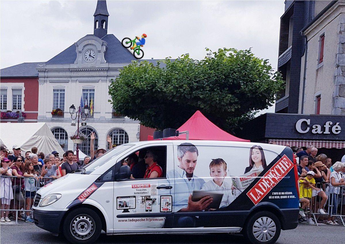 Tour de France dans nos Pyrénées...