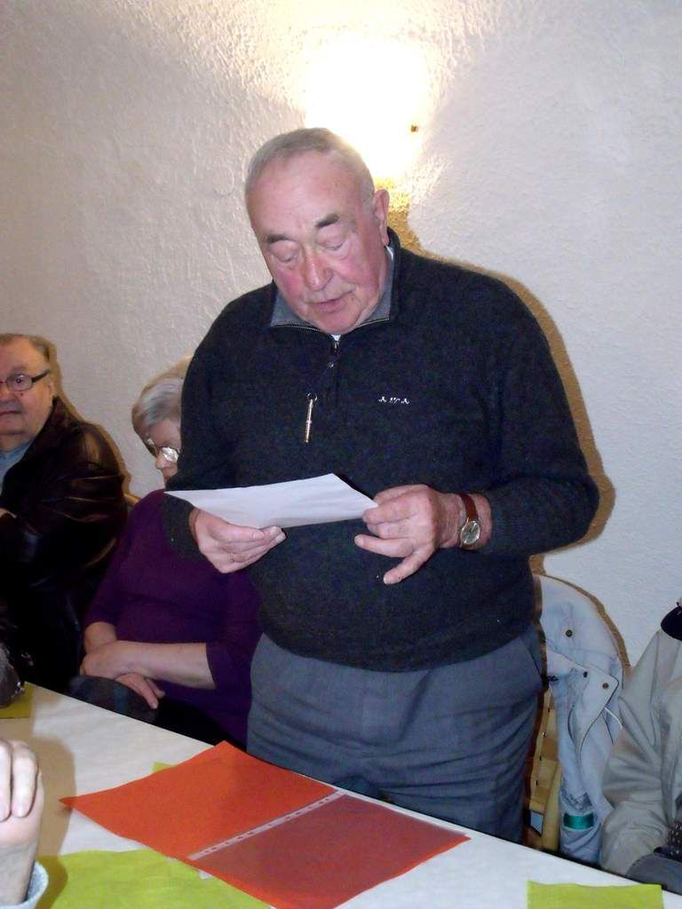 Assemblée Générale 2012 de l'Amicale des anciens Mineurs des 4 mines d'Algrange