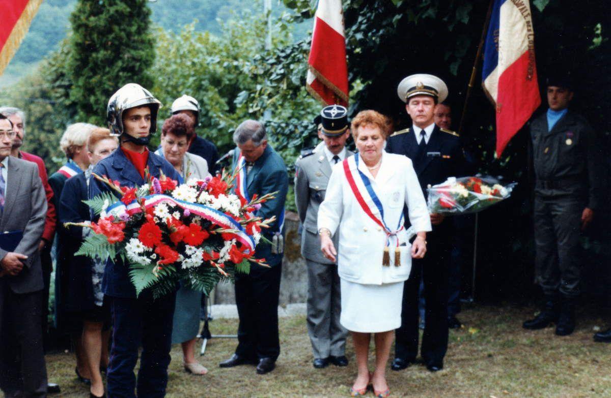 Cinquantenaire de la libération d'Algrange en 1994