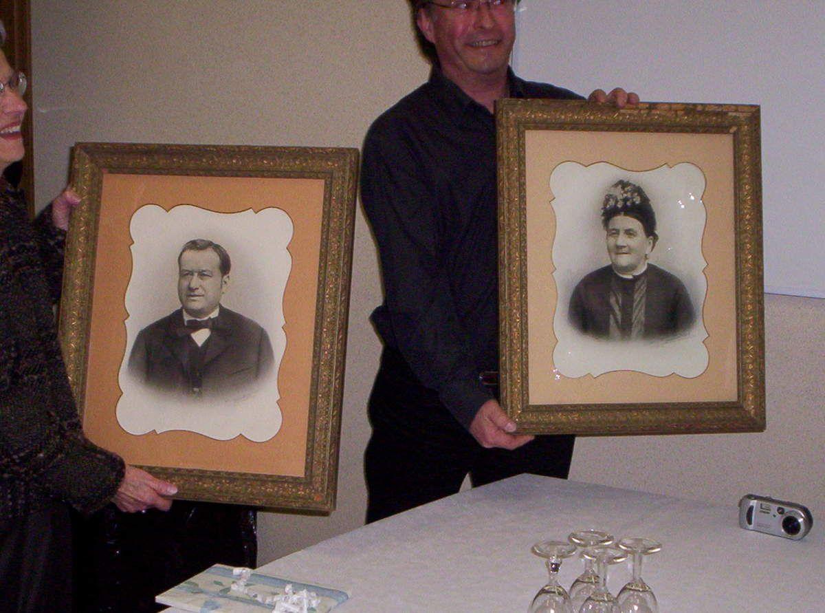 Les portraits de Nicolas et Marie DOUCHET.....