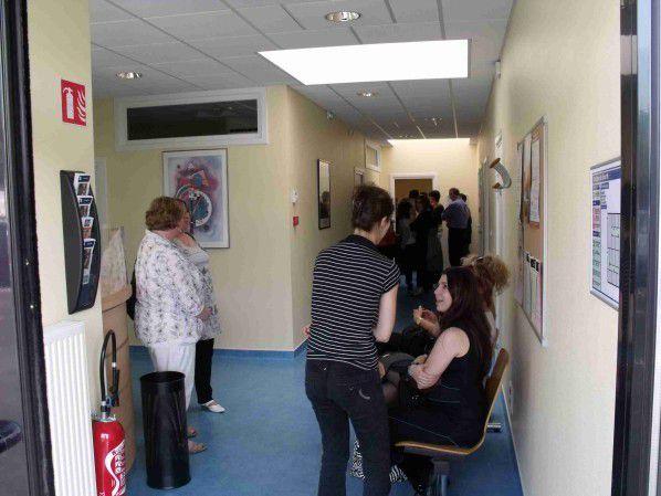 Visite des locaux de la CARMI-EST à Algrange en 2011