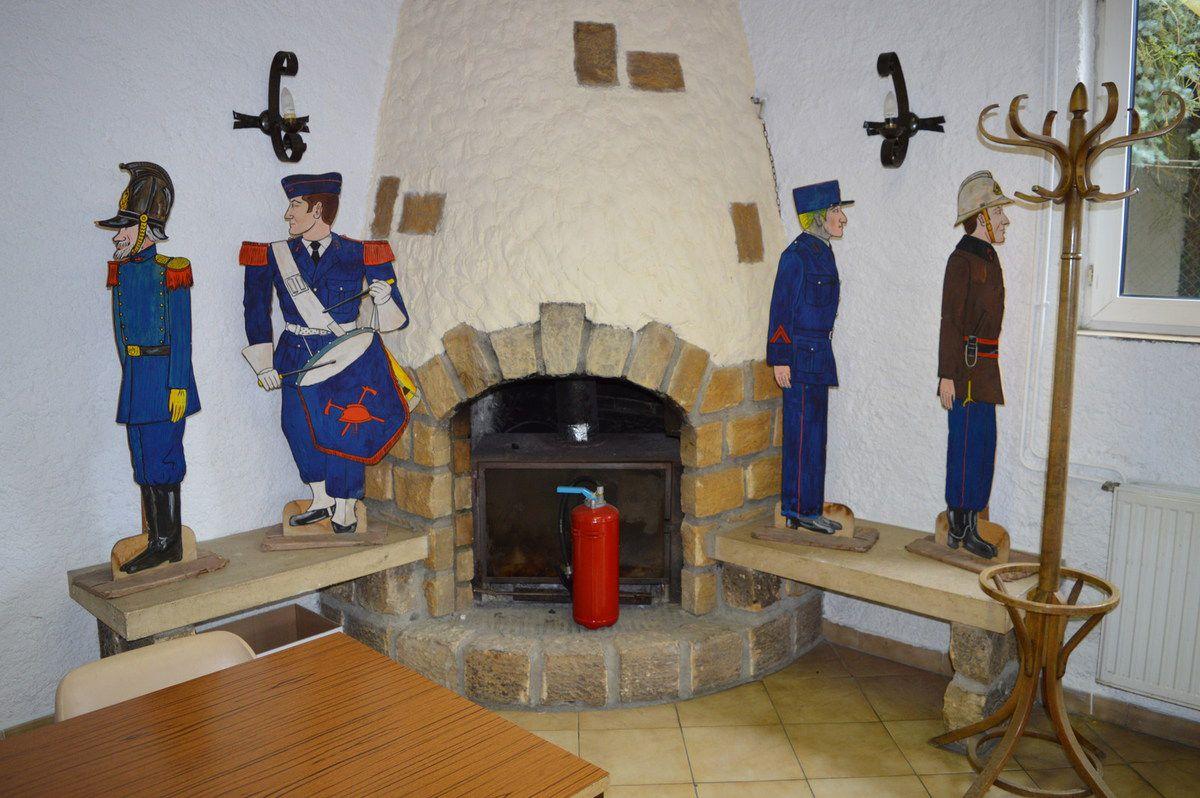 Les maquettes en bois avaient été faites par Lucien JANTZEN en 1992 pour le centenaire