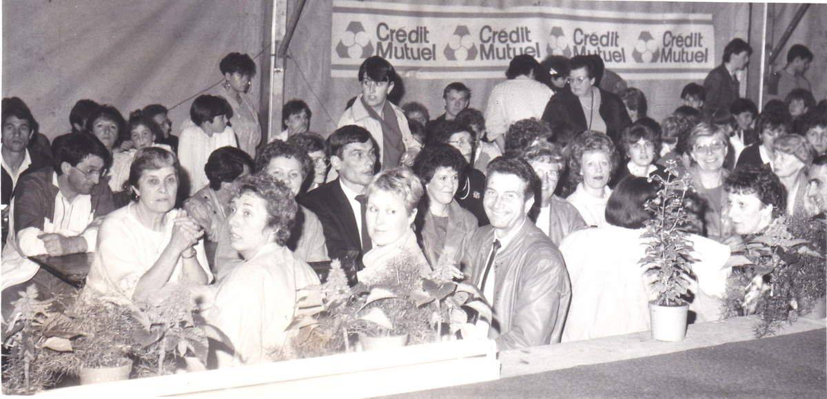 Défilé de mode à Algrange en 1988 par Denise PANDOLFI