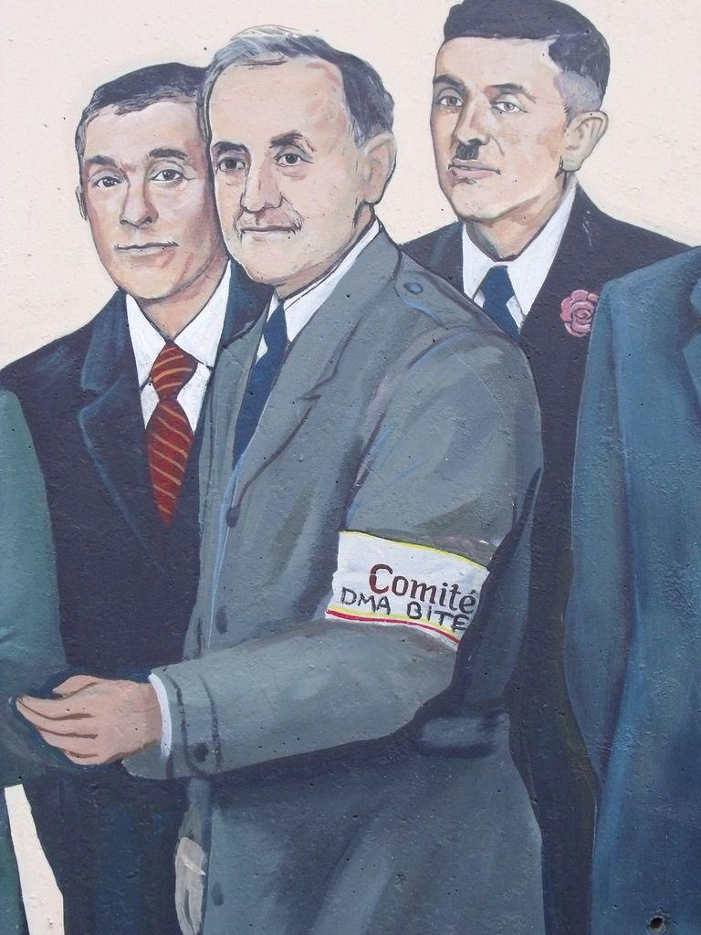 La fresque de Greg GAWRA à Algrange, taguée avant l'inauguration