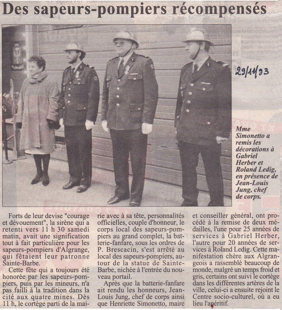 Républicain Lorrain du 29 novembre 1993