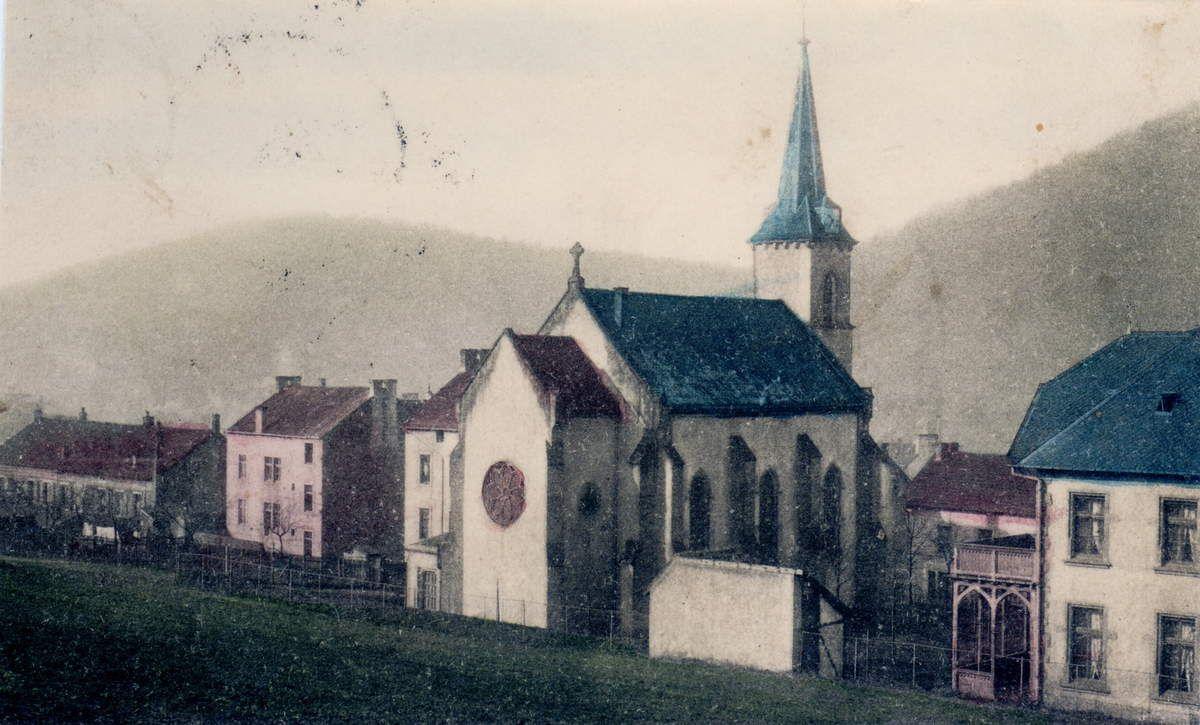 Livre de Roland SEBBEN - ALGRANGE Cité aux 4 mines - La paroisse protestante d'Algrange de ses débuts jusqu'en 1918 (9a)