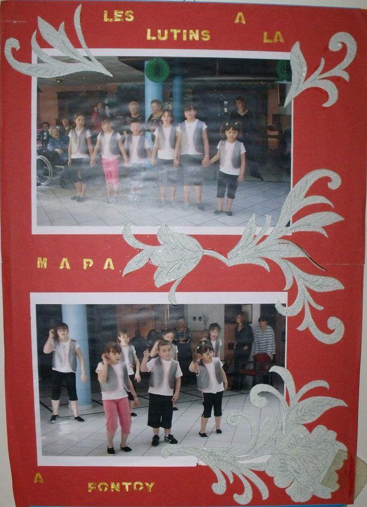 Les Lutins fêtent Noël et l'Epiphanie à Algrange en 2012