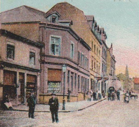 N° 122 rue Clemenceau à Algrange - Boulangerie - Habitation