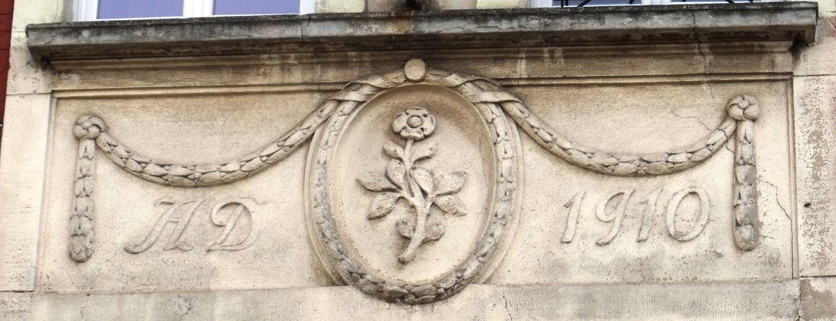 N° 32 rue Foch à Algrange - Habitation - Ecos - Bibliothèque - Habitation