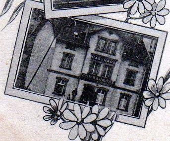 Extrait d'une carte postale datée de février 1898