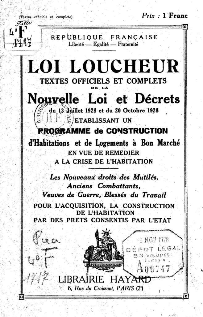 Population ouvrière et besoins en logements à Algrange en 1930