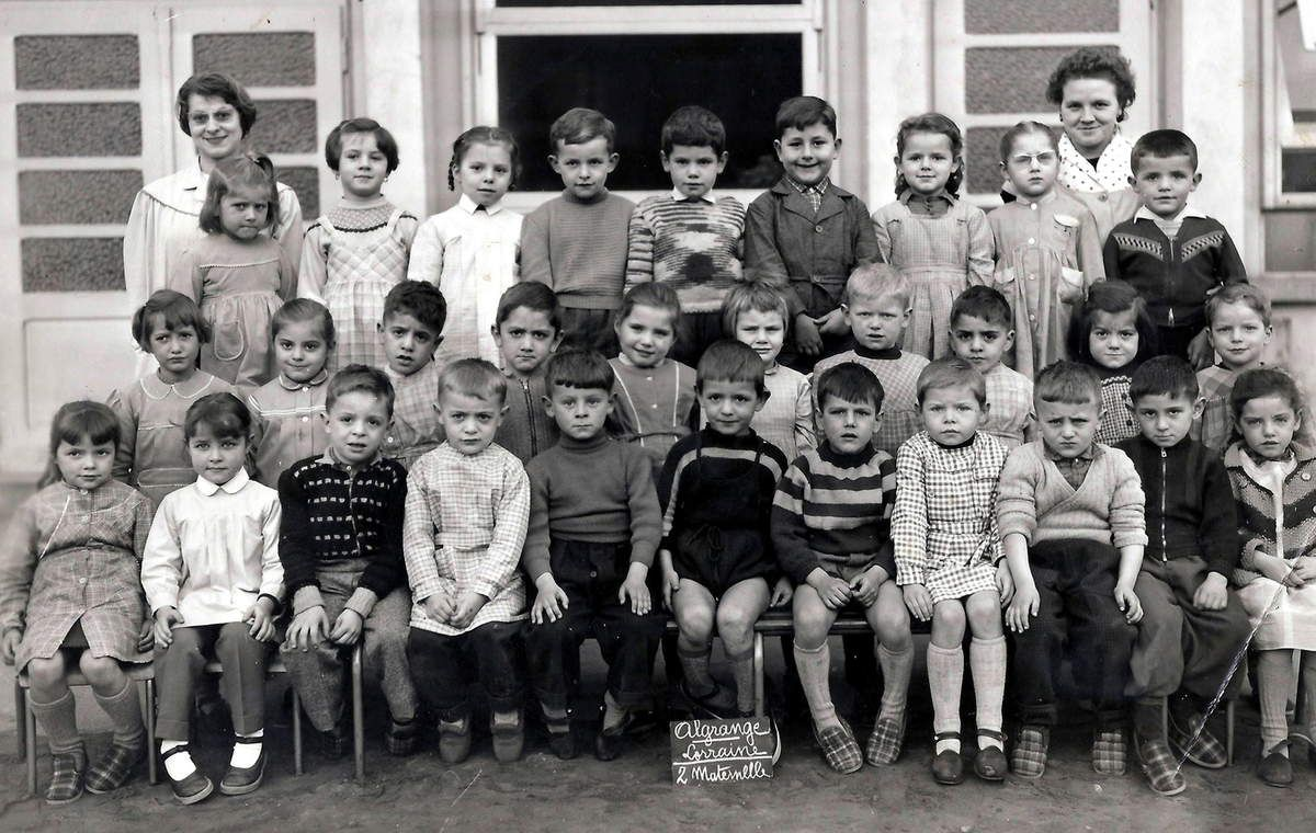 1957 - 1958 Maternelle 2 (section grands)