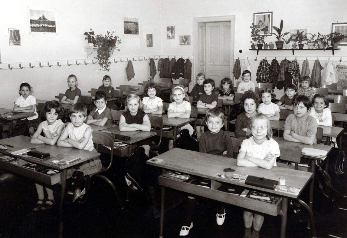Année scolaire 1965 - 1966 Classe de Cours Elémentaire 1ère année