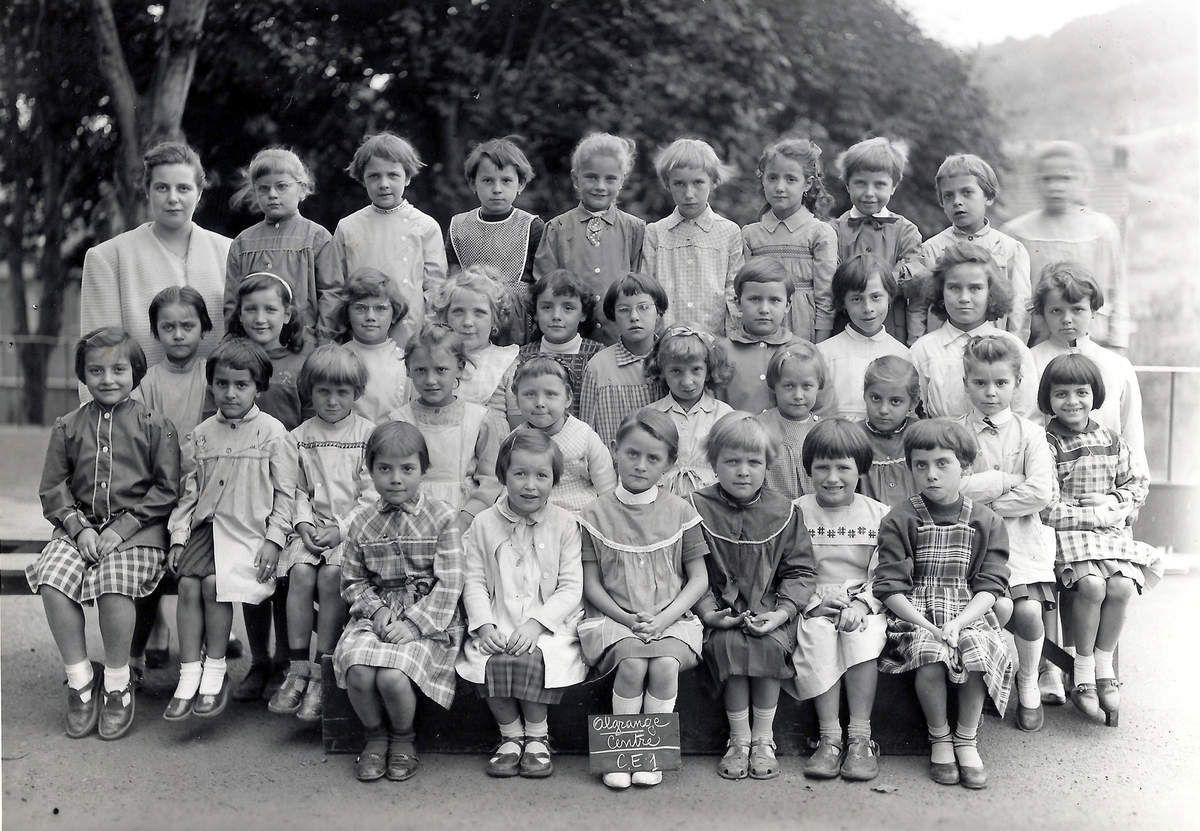 Année scolaire 1959 - 1960 Classe de Cours Elémentaire 1ère année
