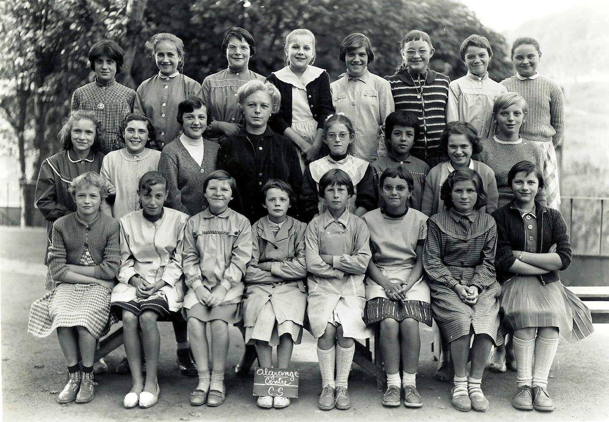 Année scolaire 1960 - 1961 Classe de Cours Supérieur