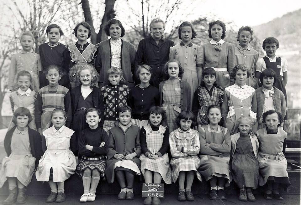 Année scolaire 1957 - 1958 Classe de Cours Moyen 2ème année
