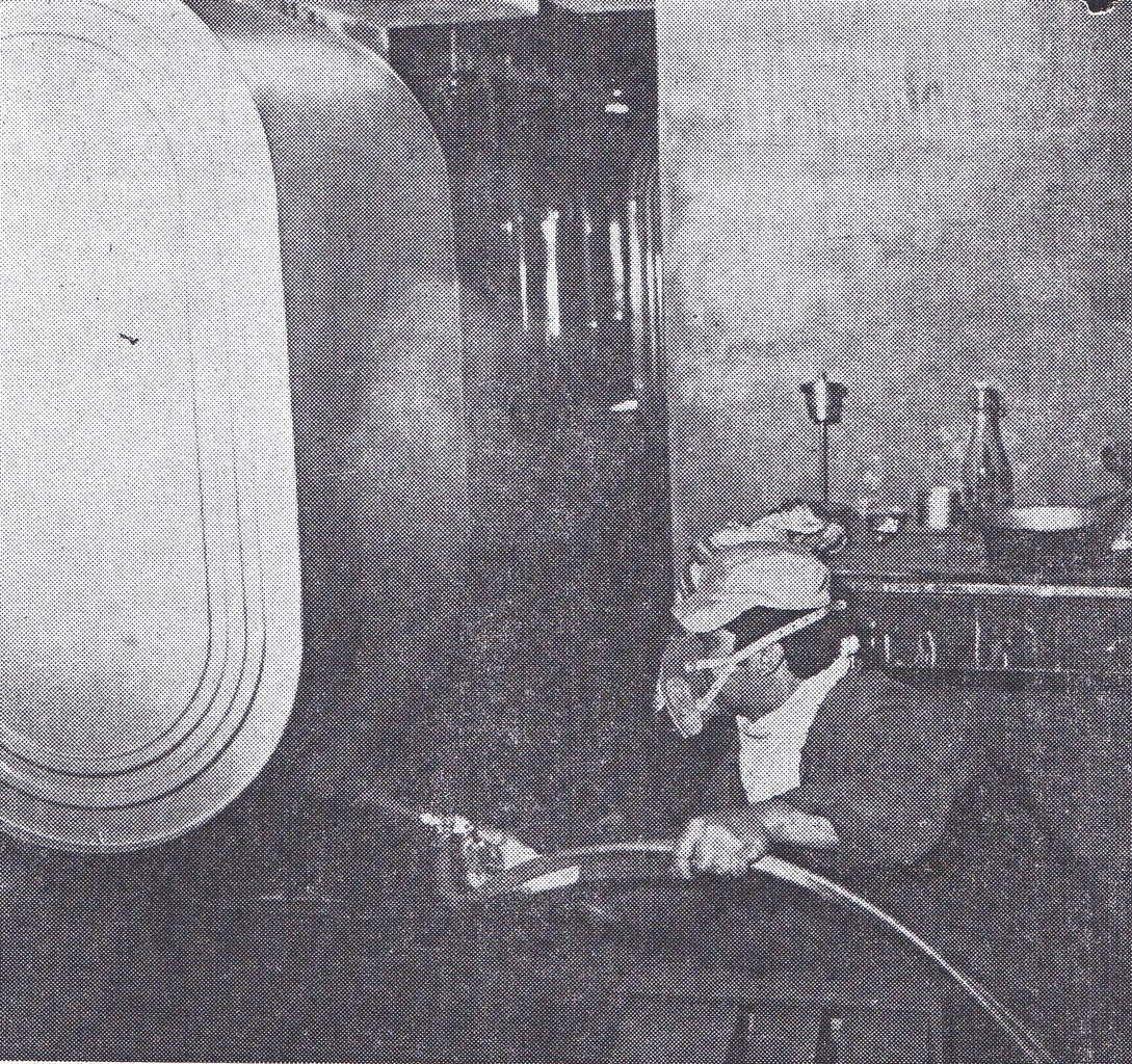 La fabrique de citernes à mazout Redelsperger à Algrange