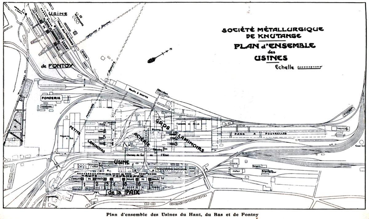 Requalification de la zone des anciens laminoirs de la S.M.K. à Nilvange-Algrange en 2012-2013
