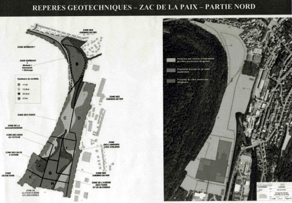 Le site de la PAIX (ex SMK) à Algrange: Pollution et dépollution en 2012
