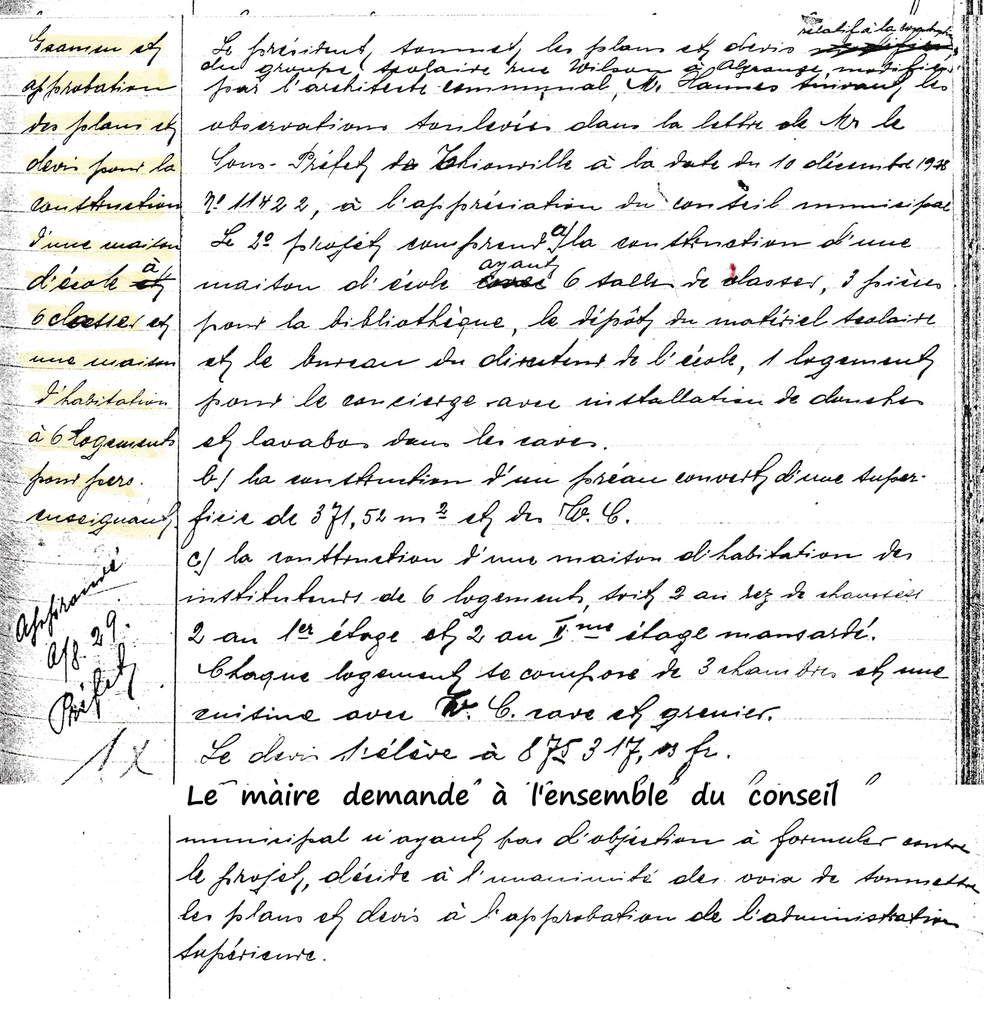 Livre de Roland SEBBEN - ALGRANGE Cité aux 4 mines - La vie scolaire (30)
