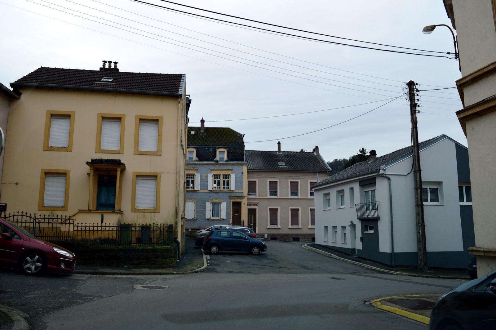 N° 15 - N°17  et N°19 rue Jean Burger à Algrange - Habitation