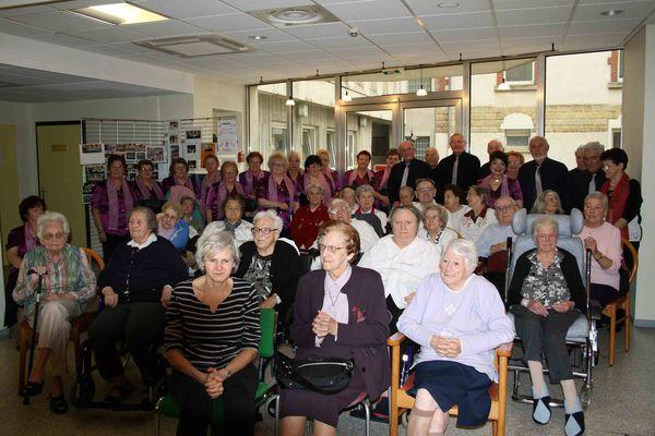 Vingt ans d'âge d'or pour la chorale d'Alpha-Santé à Algrange en 2011