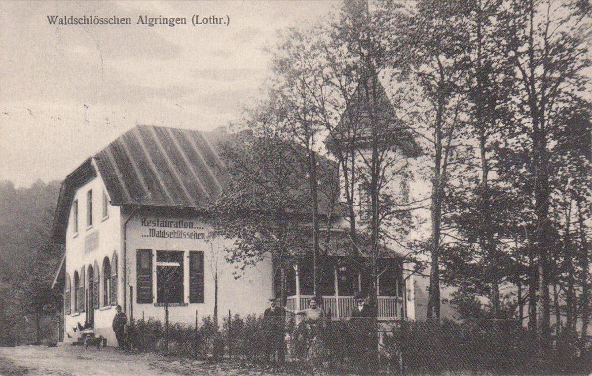 Café de la Philippsburg ou Phillipsbourg à Algrange