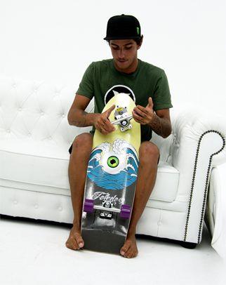 Felipe TOLEDO et son premier pro model