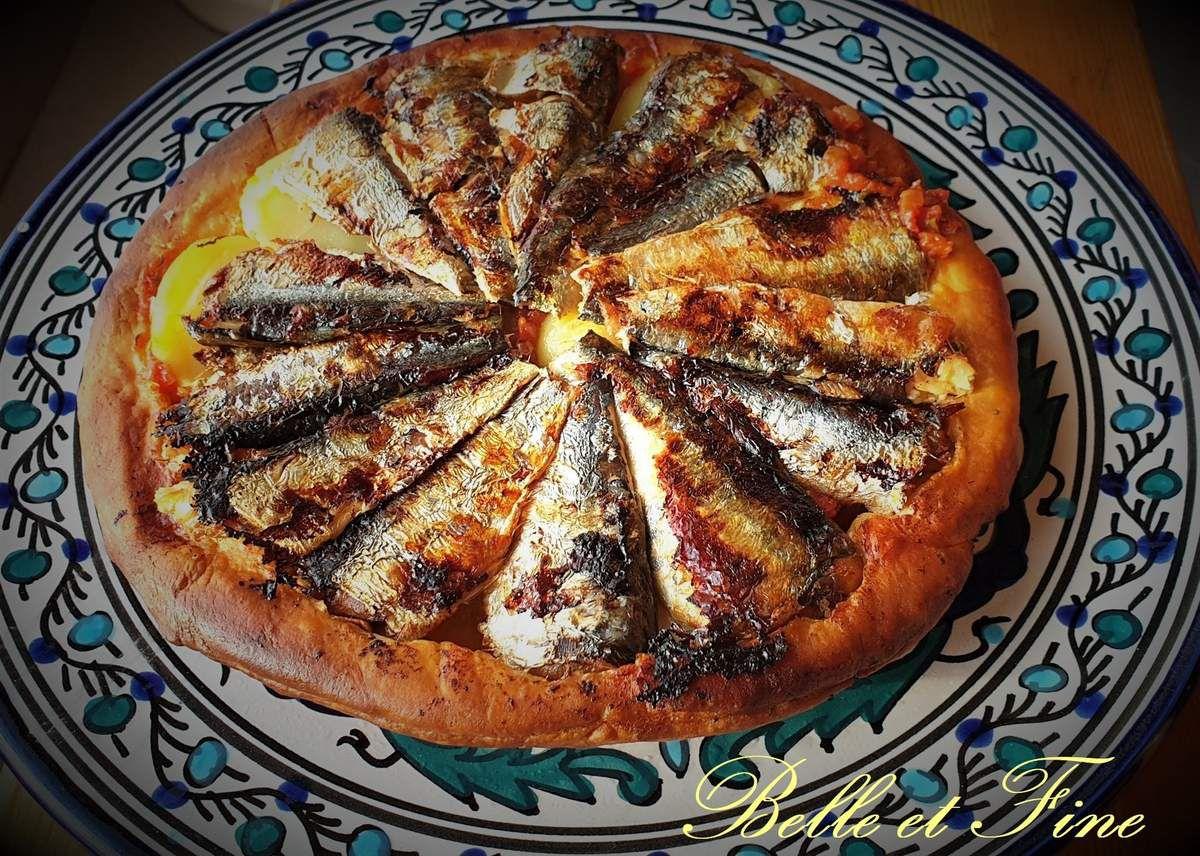 Tatin de sardines à la concassée de tomates