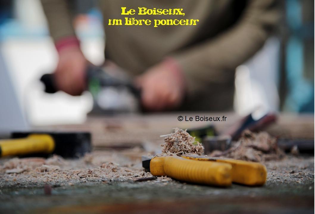 Le Boiseux, un libre ponceur