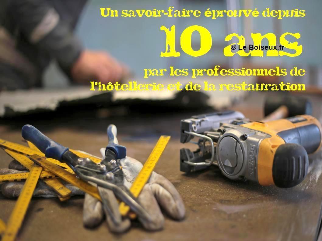 L'offre Le Boiseux c'est un savoir-faire éprouvé depuis 10 ans par les professionnels de l'hôtellerie et de la restauration