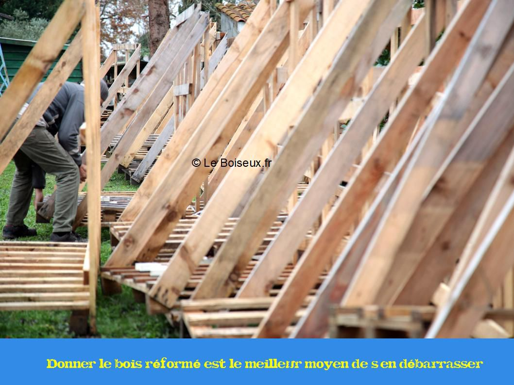 Pensez Au Recyclage Par Le Don Tables De Restaurants En Bois Recycle Sur Mesure