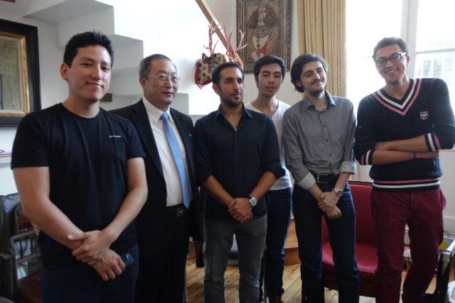 L'Association d'amitié franco-coréenne a organisé une réception à l'occasion de la fondation de la RPD de Corée