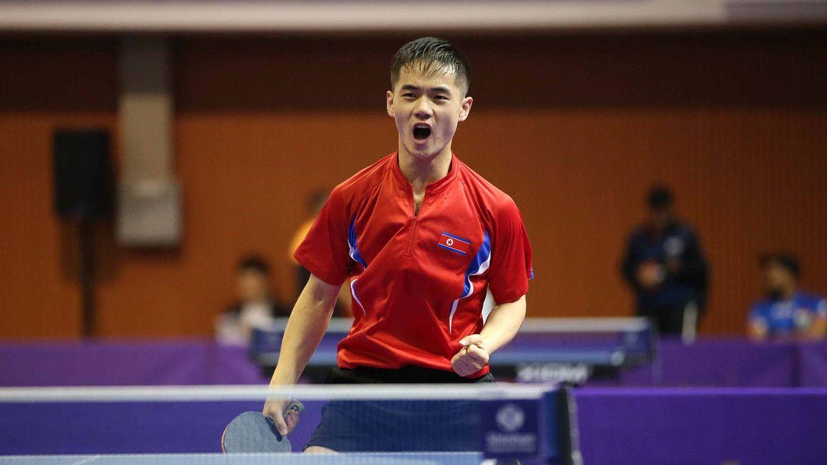 Ham Yu-song à l'Open de Corée