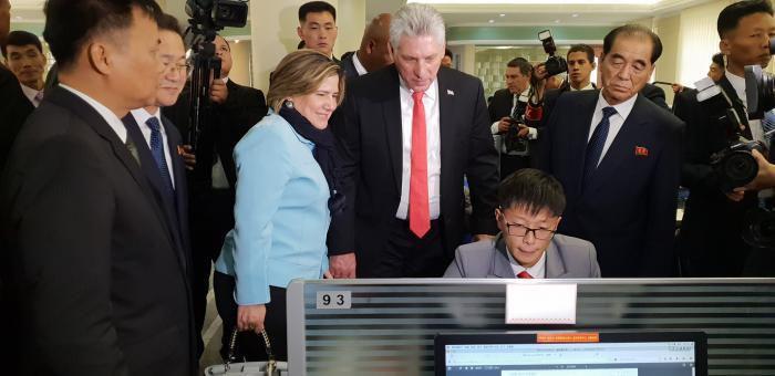 En visite à Pyongyang, Miguel Diaz-Canel réaffirme la solidarité de Cuba avec la RPD de Corée